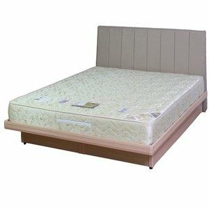 【優利亞-米蘭白橡】加大掀床組-6尺(不含床墊)3色可選