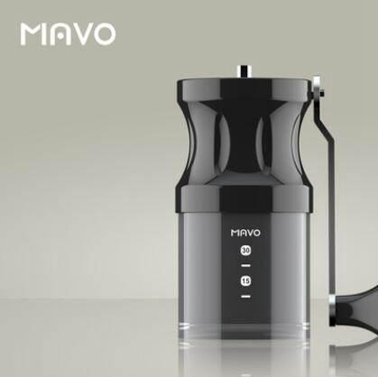 磨豆機 Mavo磨豆機咖啡豆研磨機 咖啡機手搖手動  全身水洗便攜家用磨粉【 】