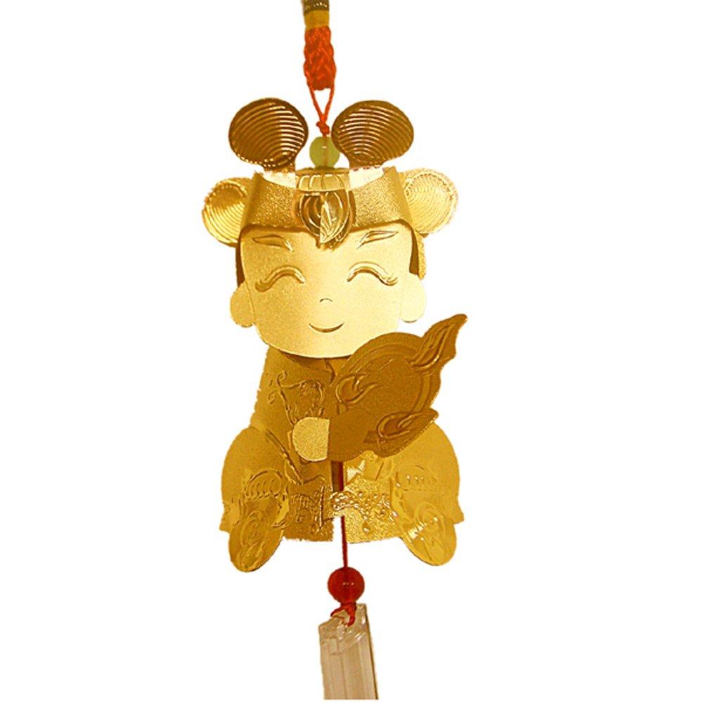 黃金好神-三太子公仔吊飾