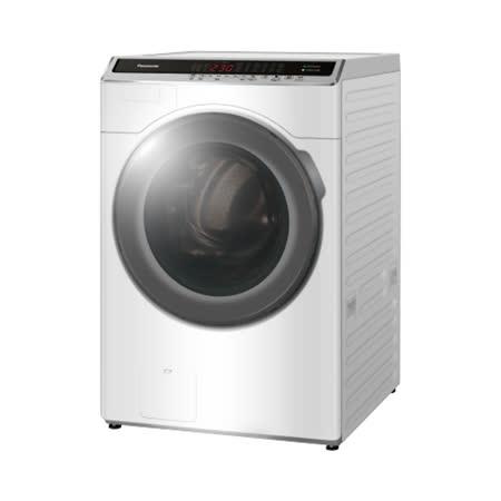 (含標準安裝)【Panasonic國際牌】16KG滾筒洗脫烘ECONAVI+nanoe™ 雙科技變頻洗衣機 NA-V160HDH-W