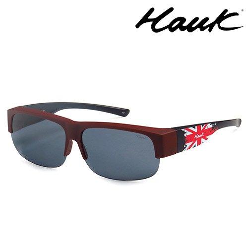 HAWK偏光太陽套鏡(眼鏡族專用)HK1602-R1