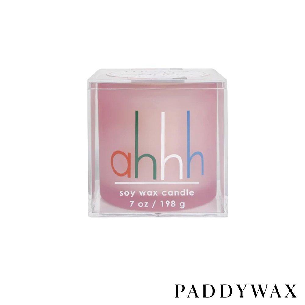 "PADDYWAX 美國香氛 Makes You Wanna Say系列 香氛蠟燭 ""ahhh..."" 薑花+粉紅胡椒 198g"