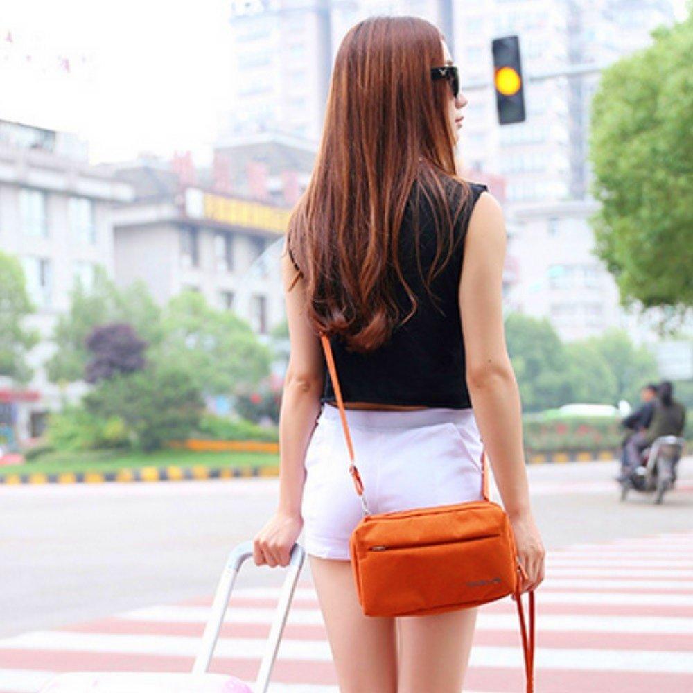 【Bunny】韓款旅行防水收納單肩包護照包證件包手拿包