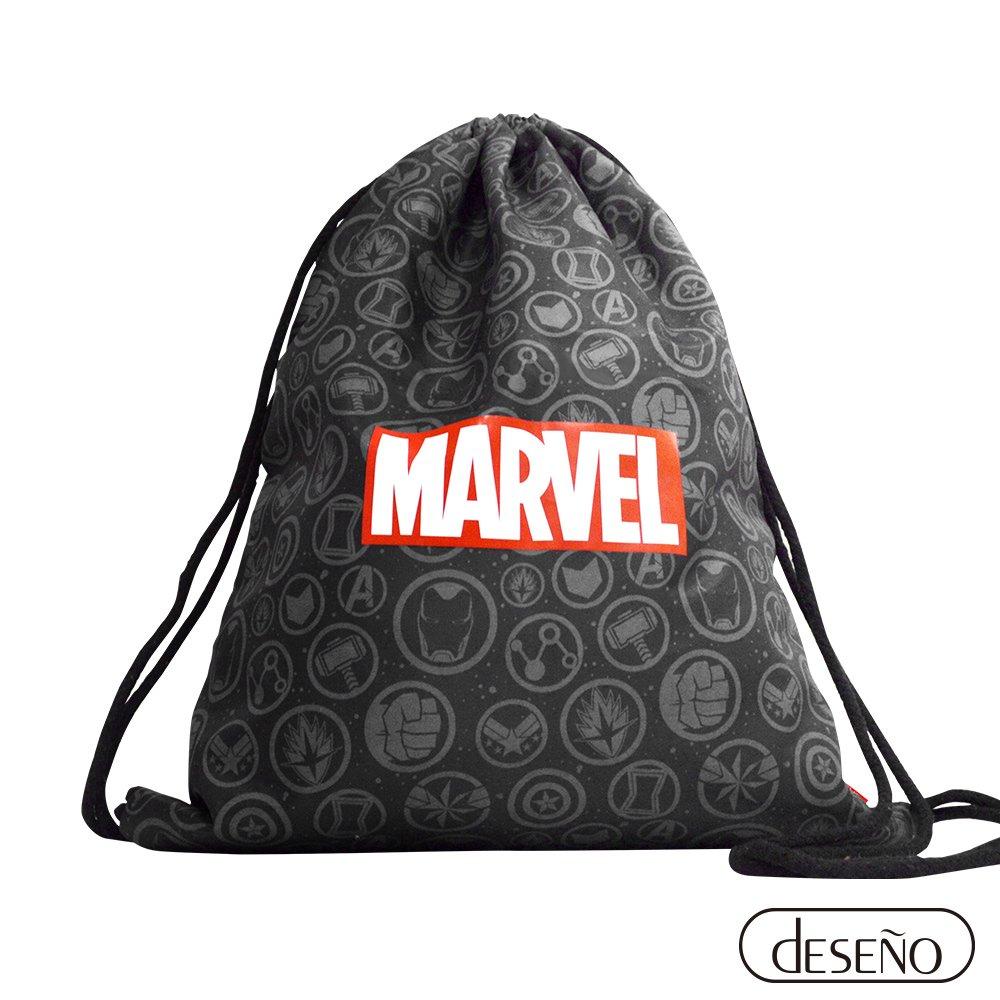 Marvel漫威 復仇者聯盟款-多功能束口背包