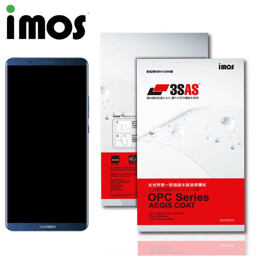 iMos HUAWEI Mate 10 Pro 3SAS 疏油疏水 螢幕保護貼
