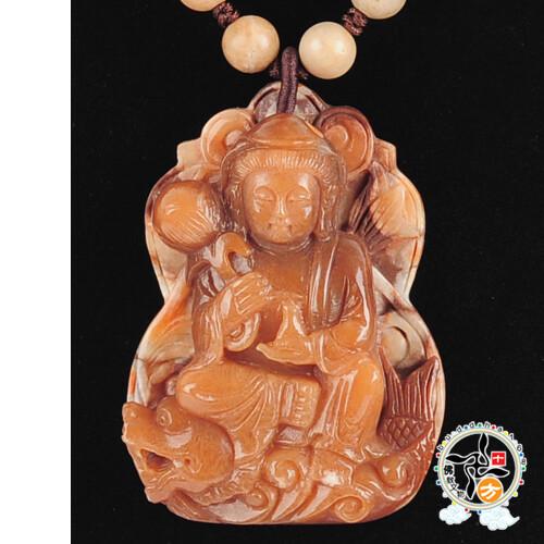 龍魚觀音極品龍宮舍利項鍊a十方佛教文物