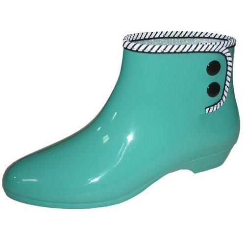【MARURYO】抗菌速乾材質 時尚雨鞋/雨靴 綠