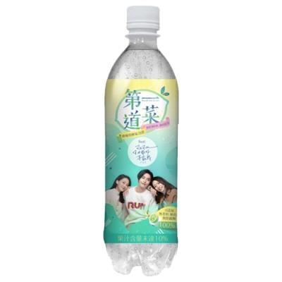 生活 第一道菜檸檬發酵氣泡飲(590mlx4入)-tiffany藍版