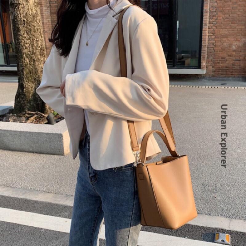 韓系手提水桶包
