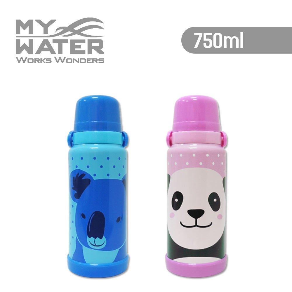 MY WATER淘氣動物保溫保冷瓶 750ml  2色可選