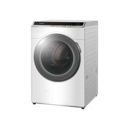 (含標準安裝)【Panasonic國際牌】14KG滾筒洗脫烘ECONAVI+nanoe™ 雙科技變頻洗衣機 NA-V140HDH-W
