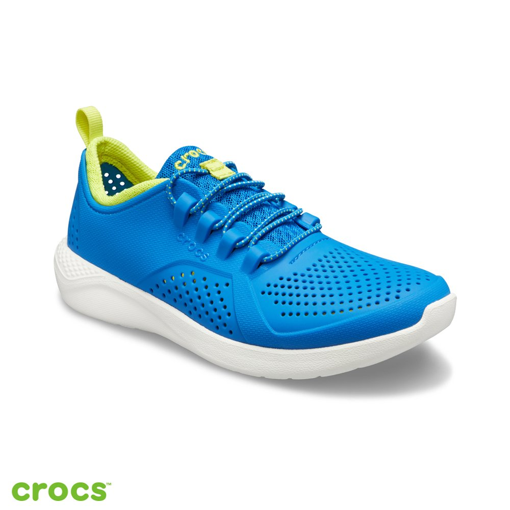 Crocs 卡駱馳 (童鞋) LiteRide徒步繫帶鞋 206011-4KF
