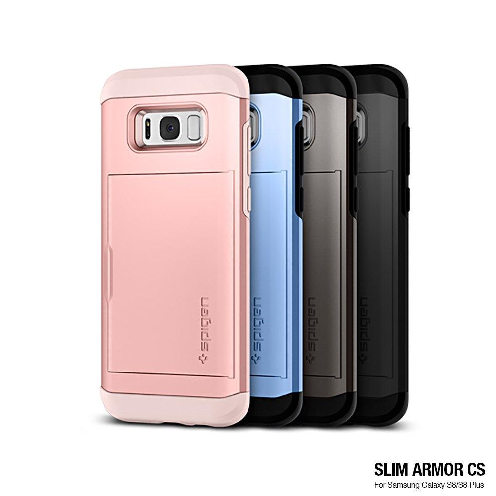 SGP/Spigen Galaxy S8 Plus Slim Armor CS-複合式卡夾防震保護殼