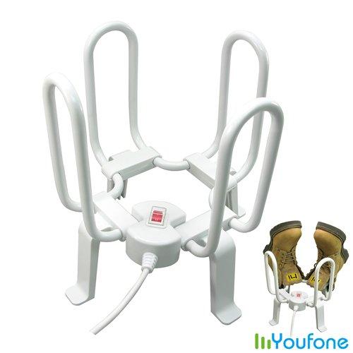 【Youfone】多功能站立式恆溫乾鞋機(2雙用)