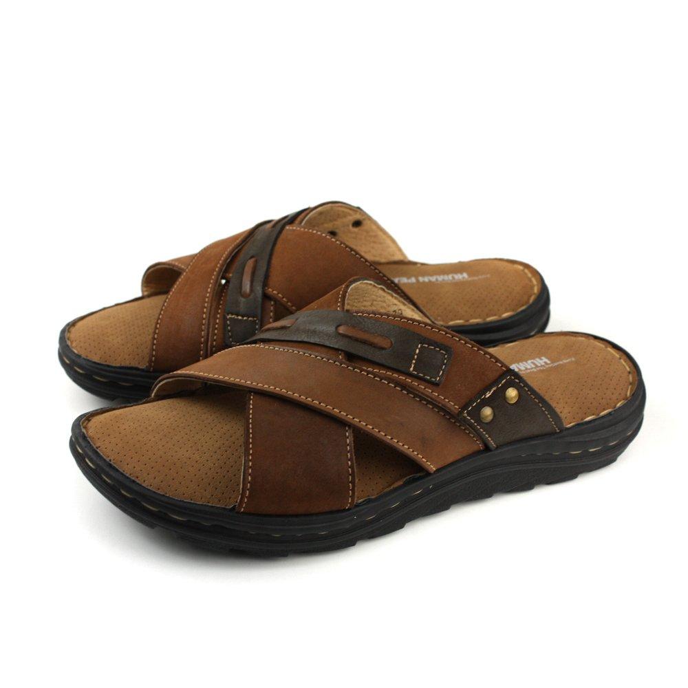 HUMAN PEACE 拖鞋 棕色 男鞋 FDMS1708 no117