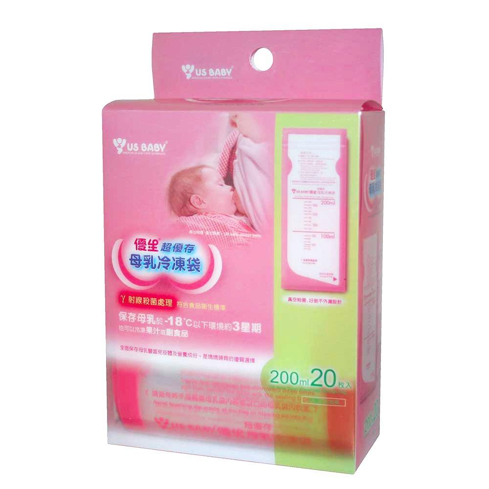 【優生】超優存母乳冷凍袋200ml20入