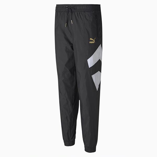 PUMA TFS WORLDHOOD 女款黑色長風褲-No.59818201