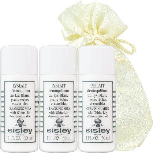 【即期品】SISLEY 希思黎 百合花保濕潔膚乳(30ml)3入旅行袋組