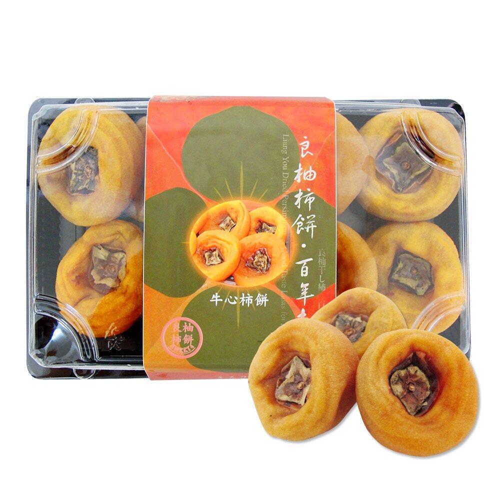 《好客-良柚柿餅》牛心柿餅(約400g/盒),共四盒