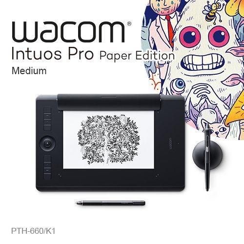 Wacom Intuos Pro medium Paper Edition 雙功能專業繪圖板