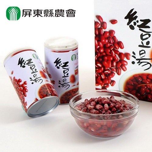 (任選)【屏東縣農會】紅豆湯320g*6入