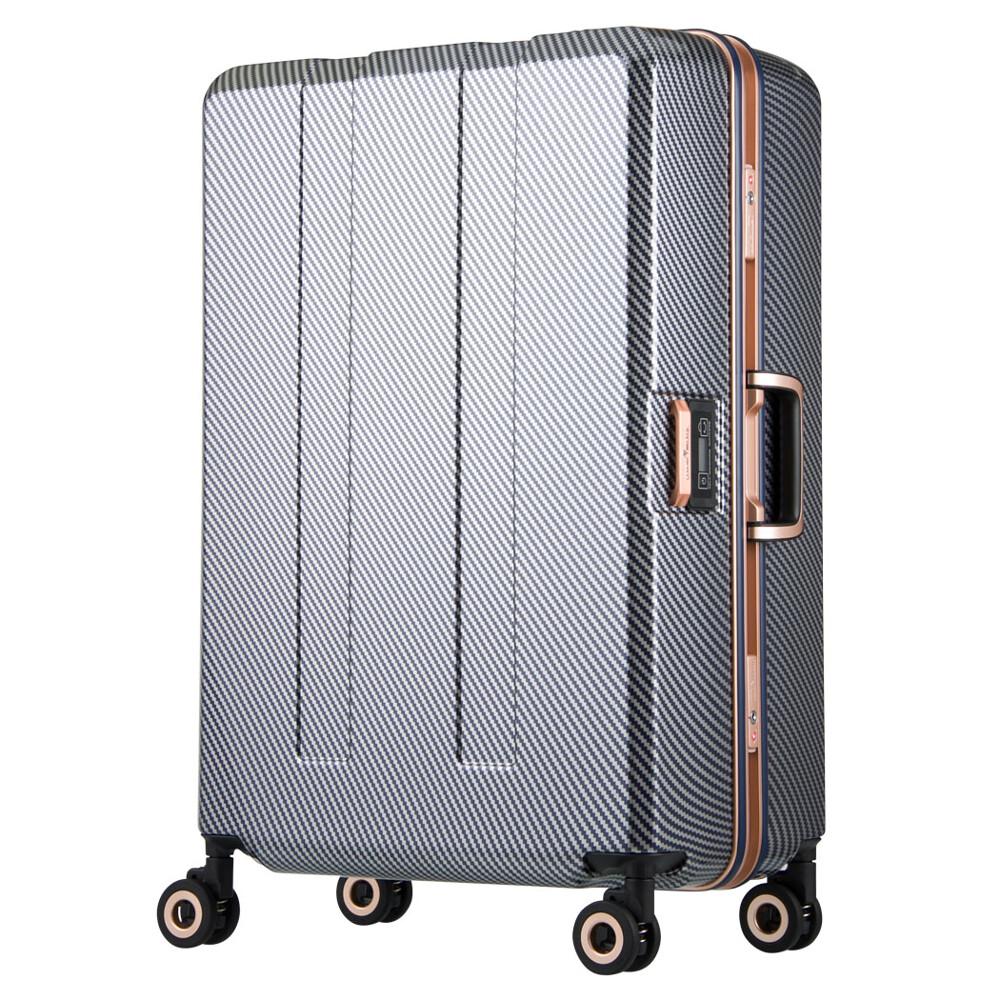 legend walker w6703n-64-26吋 寶貝避震輪秤重箱(密碼款) 碳纖星空藍