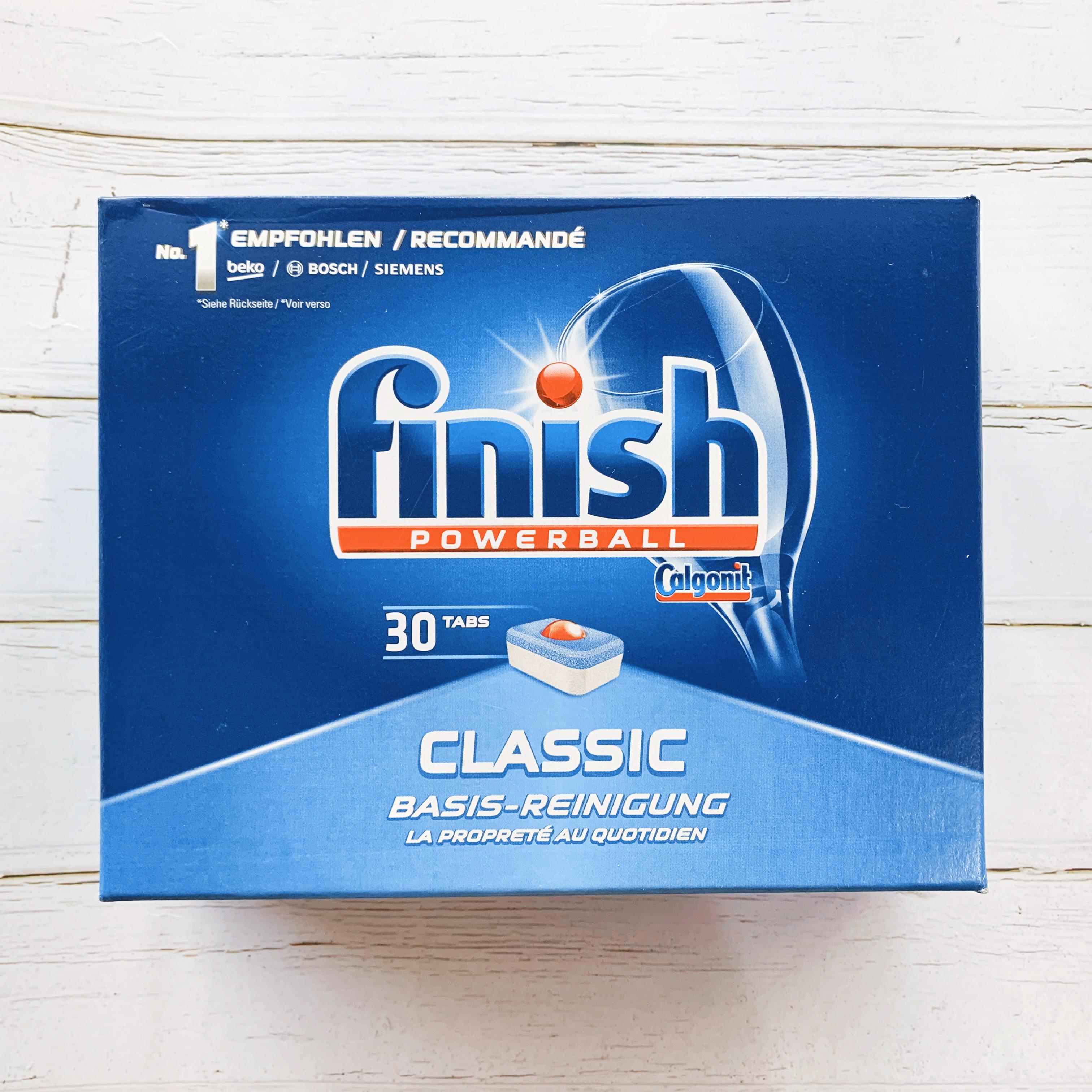 finish powerball 洗碗錠 經典超值套裝 30錠