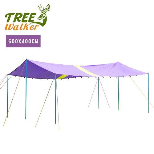 Tree Walker 400x600公分天幕帳頂布