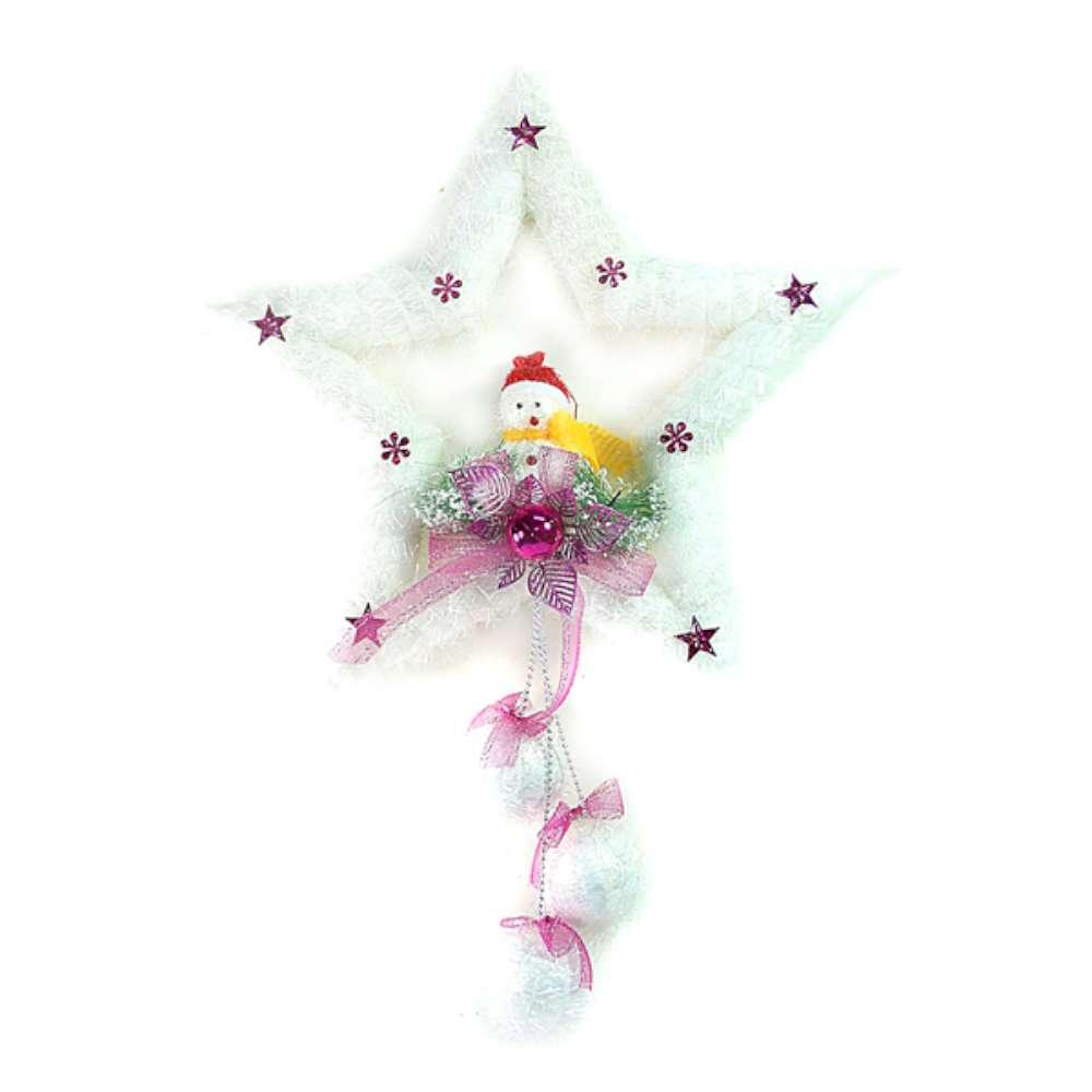 【摩達客】聖誕五角星泡棉壁飾吊飾