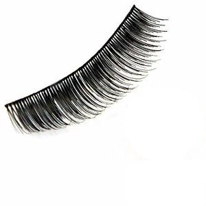 【任選】耀眼美人輕柔假睫毛天然髮絲濃密款#808發電
