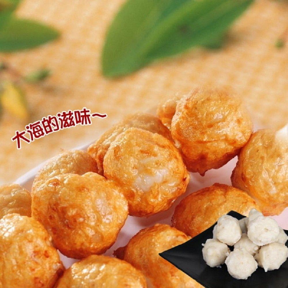 【老爸ㄟ廚房】鮮美花枝風味丸 2包組(250g±5%/10顆/包)
