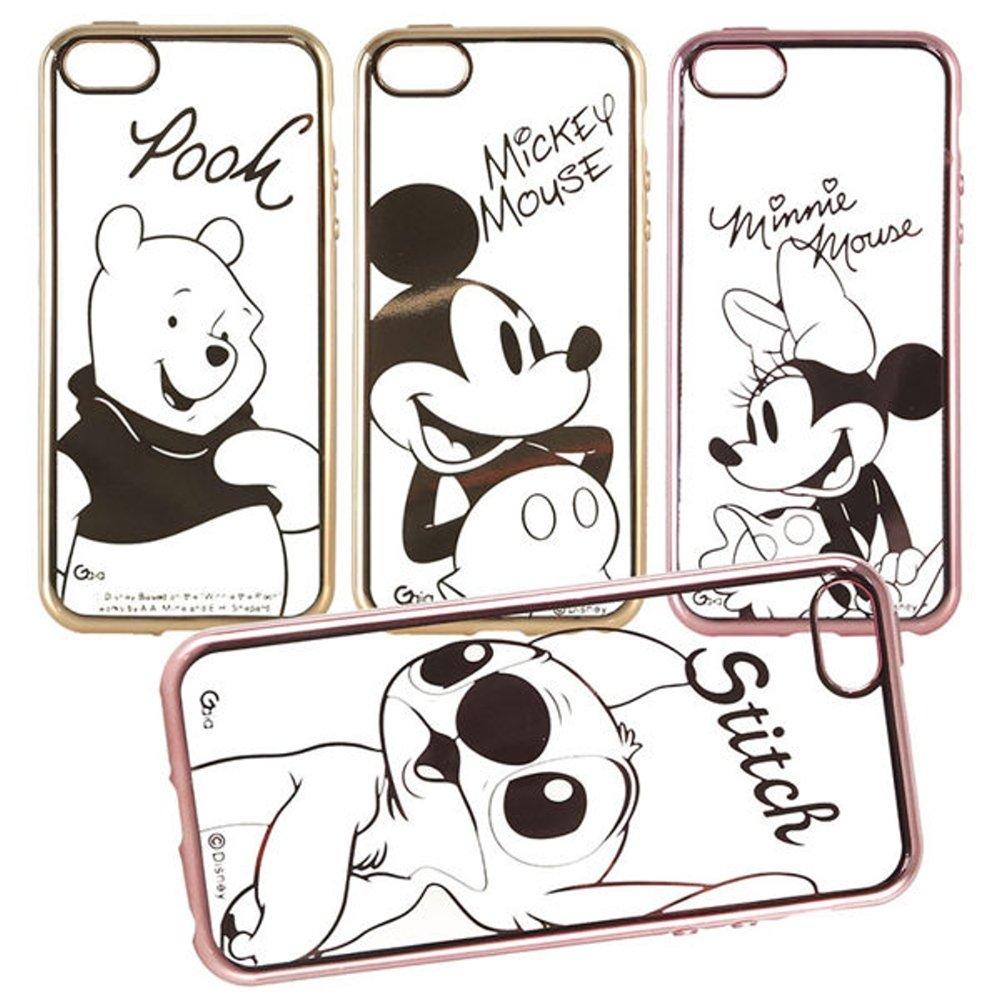 【Disney 】iPhone 6 /6s 時尚質感電鍍系列彩繪保護套-人物系列
