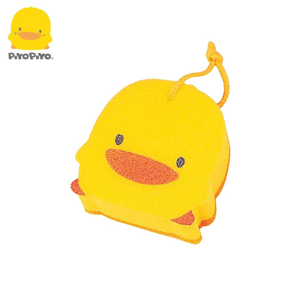 黃色小鴨《PiyoPiyo》造型雙層沐浴海綿  880074