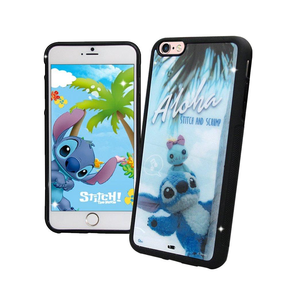 迪士尼正版授權 iPhone 6s/6 4.7吋 史迪奇布偶版 防滑手機殼(Hi)