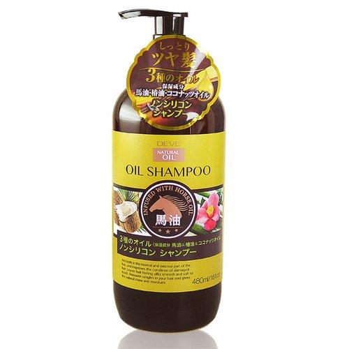 【熊野油脂】DEVE馬‧椿‧椰油洗髮乳