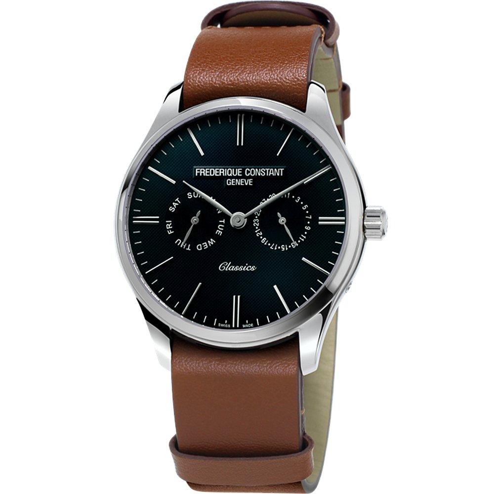 康斯登 FREDERIQUE CONSTANT Classics Quartz 百年經典Day-Date腕錶 FC-259NT5S6