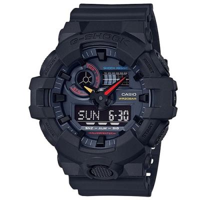G-SHOCK 科技感霓虹彩色系列概念休閒錶(GA-700BMC-1A)-/51.2mm