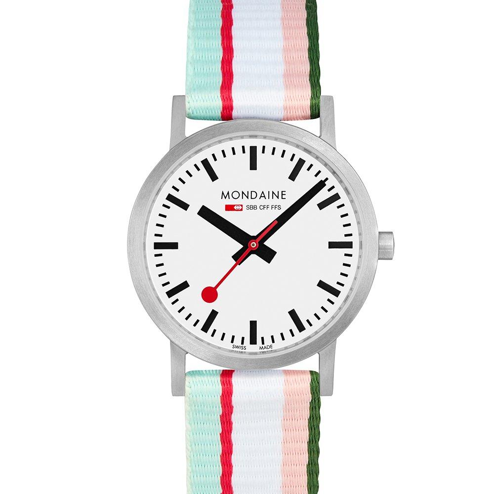 MONDAINE 瑞士國鐵 Classic系列腕錶-30mm/粉 65816BS