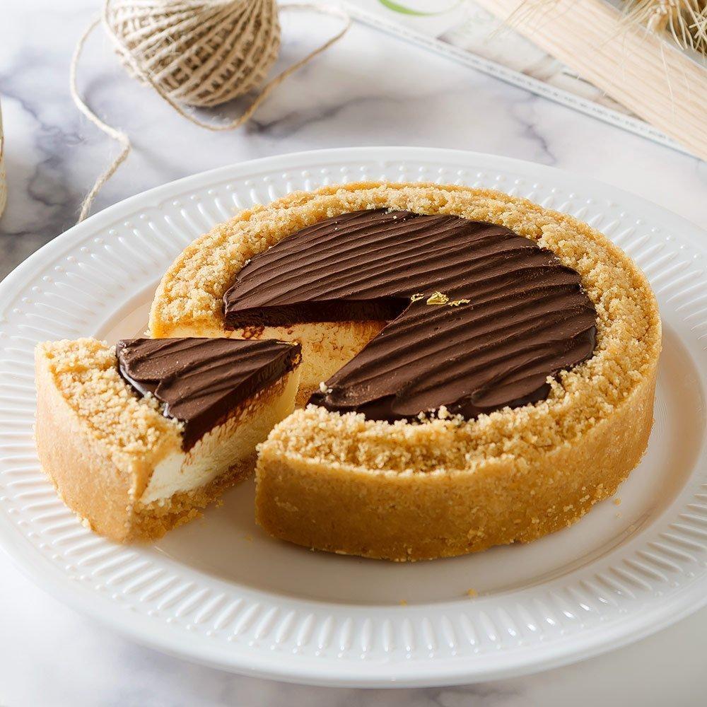 艾波索【比利時巧克力乳酪6吋】 2019蘋果日報母親節蛋糕評比雙冠軍!