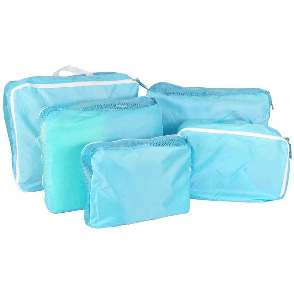 超實用5件式旅行收納袋