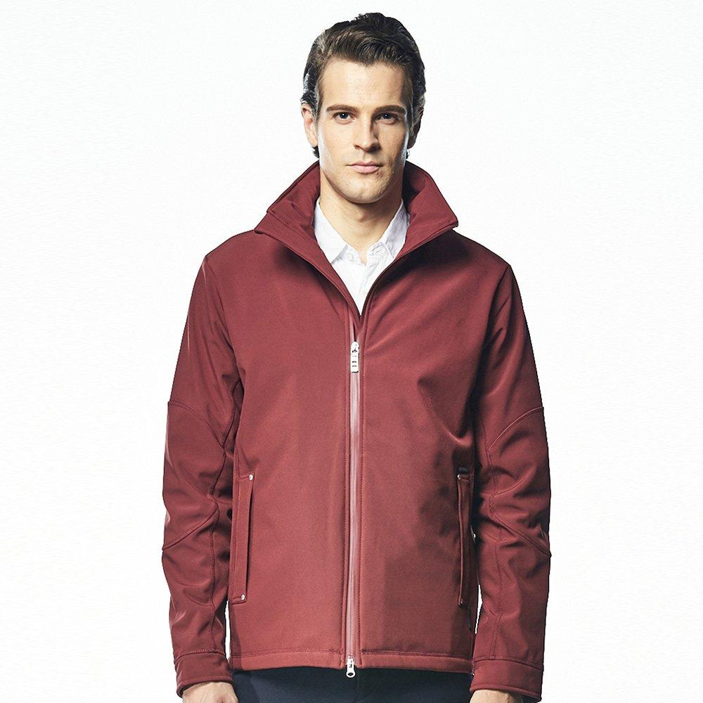 【ST.MALO】專業高機能彈性蓄暖男外套-1615MJ-紅木色