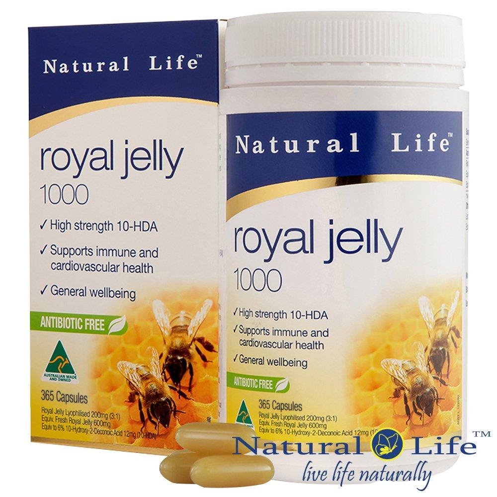 澳洲Natural Life頂級蜂王漿1000mg(365顆)