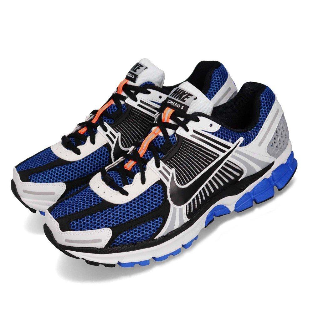 NIKE 慢跑鞋 Zoom Vomero 5 運動 男鞋 氣墊 避震 路跑 舒適 健身 復刻 綠 白 [CI1694-100]