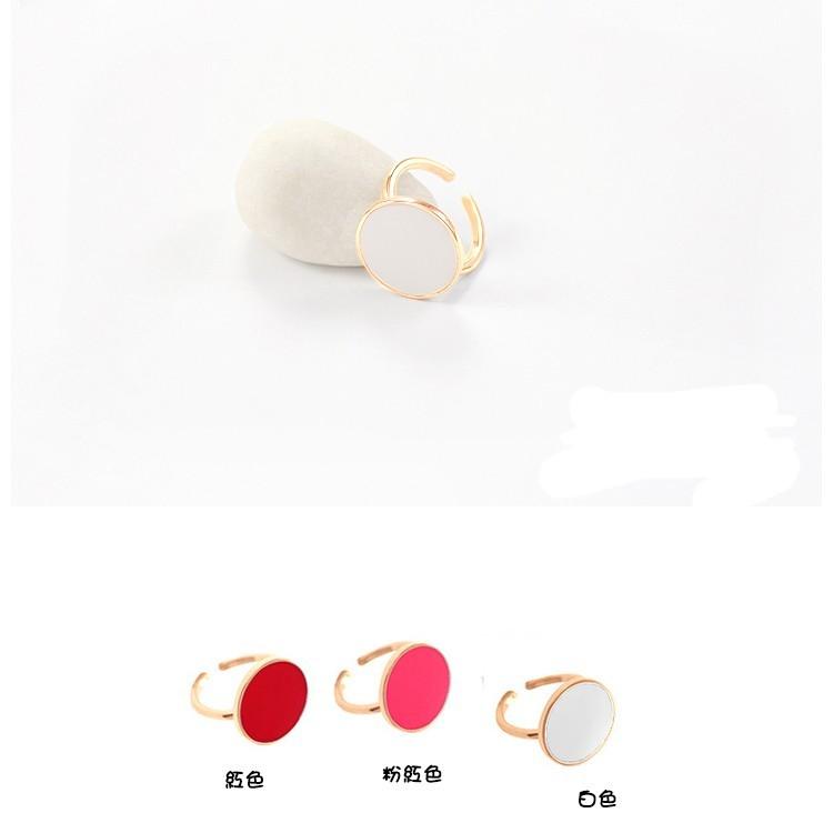 韓劇製作人相似款 白鋼c型可調式戒指-ajs028