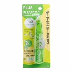 PLUS Q凍智慧型滾輪修正帶-綠(WH-626)