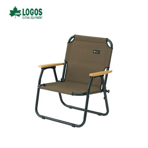 日本LOGOS 低腳單人露營折疊椅 摺疊椅 露營椅 露營桌椅 登山 No.73174035