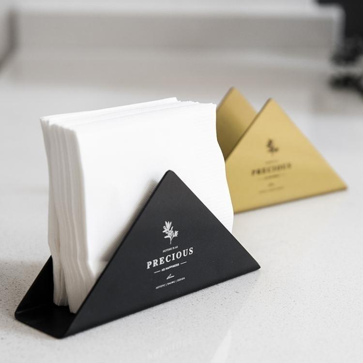 紙巾盒 述物原創 北歐ins紙巾盒家用簡約客廳餐巾紙盒飯店餐廳簡約抽紙盒