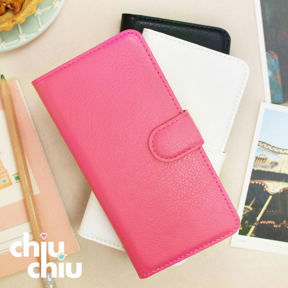【CHIUCHIU】Apple iPhone 11 Pro Max (6.5吋)荔枝紋側掀式可插卡立架型保護皮套
