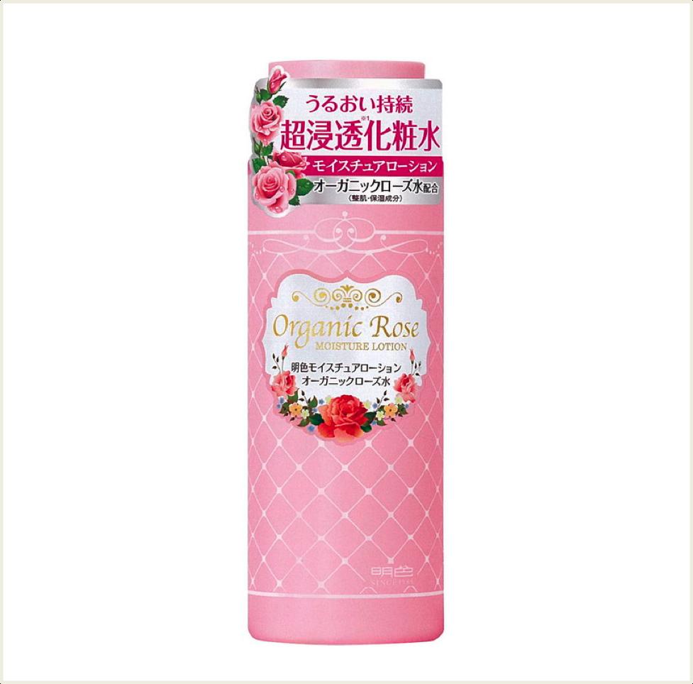 潼漾小舖 meishoku 明色 天然植物保濕玫瑰化妝水 210ml
