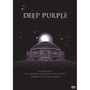 深紫色樂團&倫敦交響樂團演唱會 DVD  Deep Purple - In Concert with The London Symphony Orchestra DVD